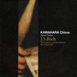 無伴奏ヴァイオリンのためのソナタとパルティータ全曲/川原千真(2CD)